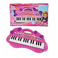 Музыкальный инструмент Электросинтезатор  Девчачий стиль Simba (6830692)