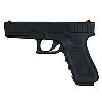 Пистолет-макет резиновый для единоборств с удобной ручкой