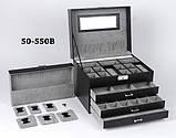 Шкатулка для украшений 50-550 В Черная, фото 5