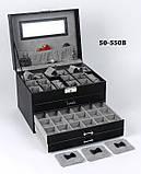 Шкатулка для украшений 50-550 В Черная, фото 6