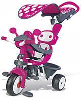 Детский металлический велосипед Smoby Комфорт розовый (740600)
