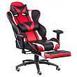 Кресло геймерское Special4You ExtremeRace black/red with footrest (Е4947), фото 2