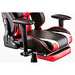 Кресло геймерское Special4You ExtremeRace black/red with footrest (Е4947), фото 3
