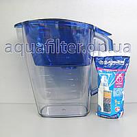 Фильтр-кувшин для воды Барьер Гранд (Grand) Индиго (Синий)