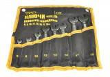 Ключи рожково-накидные набор 15 шт (6-19 & 22) PROF DIN3113 пожизненная гарантия