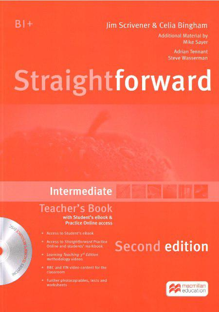 Straightforward Second Edition Intermediate Teacher's Book with eBook and Practice Online access