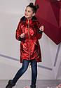 Модная куртка парка металлик на девочку подростка Размеры 134- 158 ТОП продаж!, фото 3