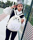 Рюкзак детский подростковый Кот с ушками и хвостиком, фото 5