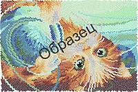 Схема для круговой вышивки бисером «Кошачьи забавы»