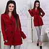 Пальто женское пуговицы карманы (деми), фото 4