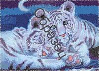 Схема для вышивки бисером «Тигрята»