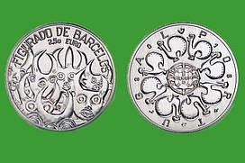 Португалия 2,5 евро 2016 г. Керамика из Барселуш , UNC