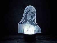 """Сменная пластина для 3D светильников """"Дева"""" 3DTOYSLAMP, фото 1"""