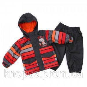 Демисезонная куртка на флисе и штаны на подкладке  для мальчикFrost Gray,  , NANO (PELUCHE & TARTINE )