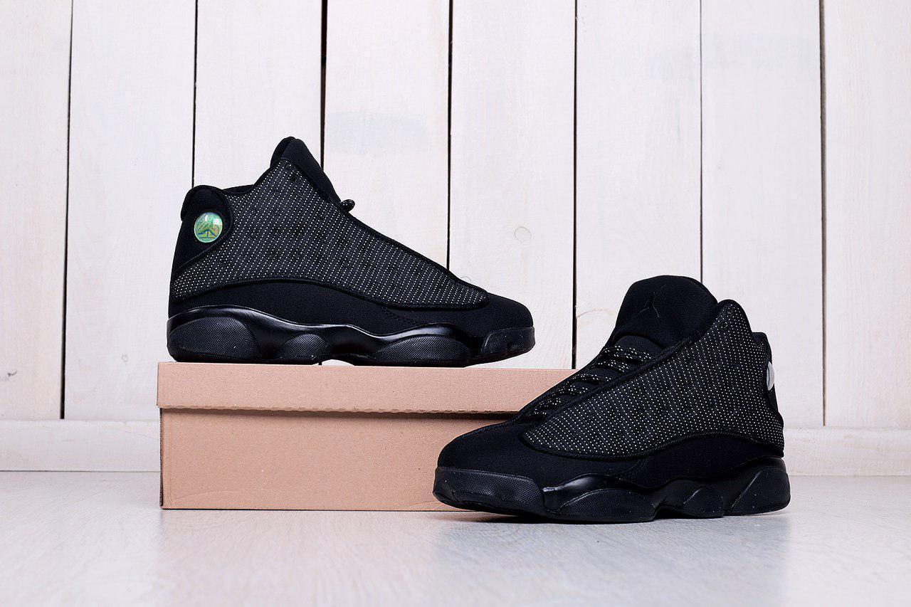 6df54b016c58 Мужские кроссовки Nike Jordan Retro13- Носок натур кожа, прочный  текстиль,нубук ,фабр