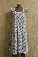 Женская рубашка без рукавов бабушка 100 % хлопок
