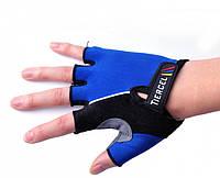 Перчатки для фитнеса (атлетические) / велоперчатки Tiercel: S, M, L, XL (Blue)