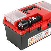 """Ящик для инструмента c фонарем 16"""" 395*220*200 мм"""