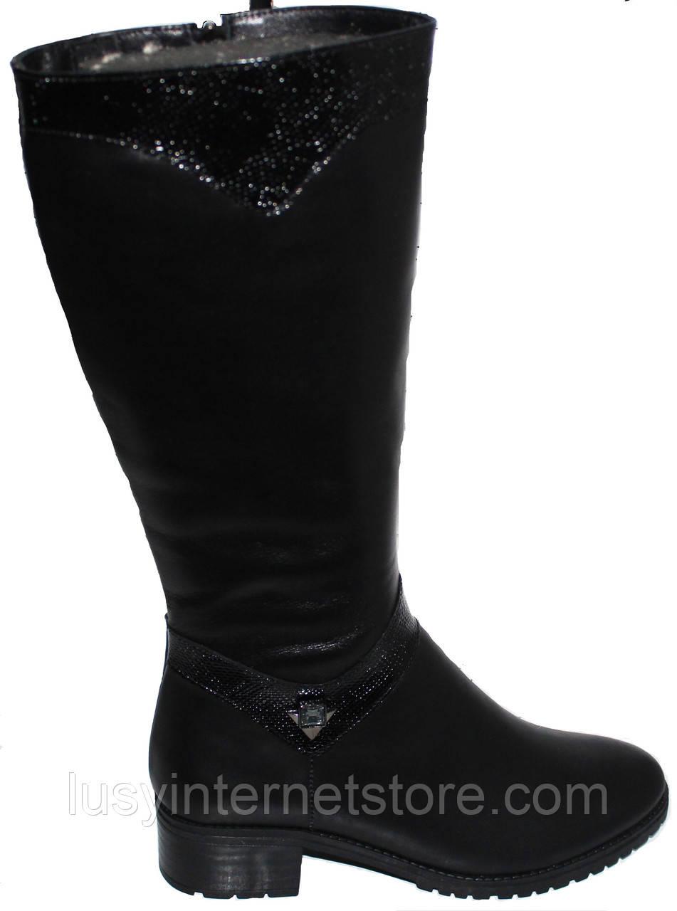 ea57d5507 Высокие женские кожаные сапоги демисезонные, сапоги кожаные от  производителя модель БМ736 - Lusy в Харькове