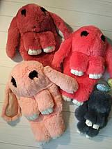 Сумка-рюкзак в виде кролика оранжевого цвета, фото 2