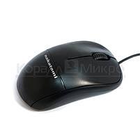 Мышь Nakatomi Navigator MON-05U, 1000dpi, USB, чёрный, фото 2