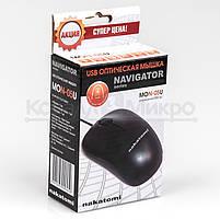 Мышь Nakatomi Navigator MON-05U, 1000dpi, USB, чёрный, фото 5