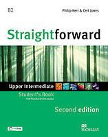 Straightforward Second Edition Upper-Intermediate Student's Book with Practice Online access (Учебник)