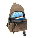 Сумка-рюкзак Flish т/серая большая С243, фото 3