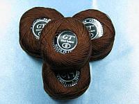 Нитки ирис коричневый № 220