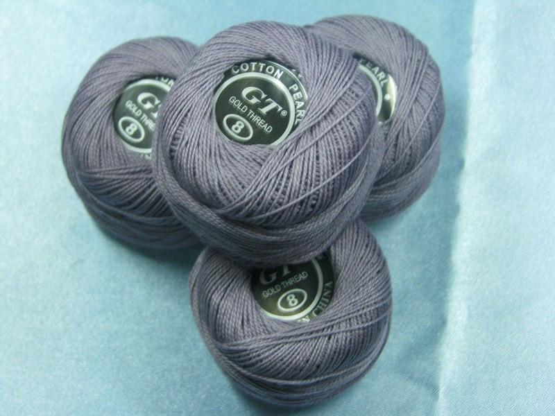 Нитки ирис бледно-фиолетовый № 418
