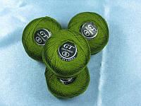 Нитки ирис оливково-серый № 819