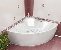 Гидромассажная ванна с врезным смесителем Triton Троя, 1500х1500х630 мм