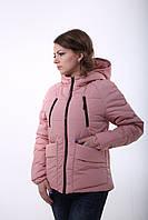 Красивая деми куртка Милара розовый, фото 1