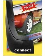 Брызговик передний для тюнинга Ford Connect 2009+ (2 шт)