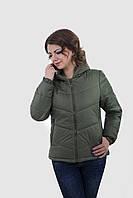 Красивая деми куртка Калипса хаки, фото 1