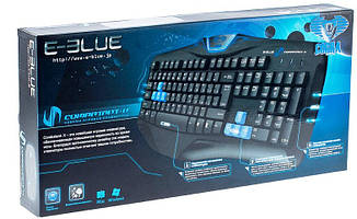 Клавиатура E-BLUE - Cobra profressional gaming keyboard (Russia )