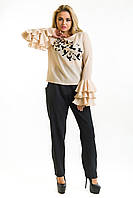 Блузка Стая бежевый, фото 1