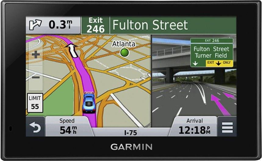 GPS навигатор Garmin Nuvi 2589LMT