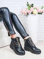 Женские кожаные ботинки: стильный минимализм и удобство
