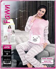 Женские теплые пижамы и костюмы