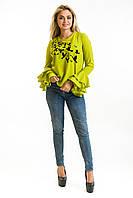 Блузка Стая лайм, фото 1