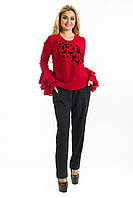Блузка Стая бордо, фото 1