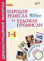 Яковенко Л.В. Народні ремесла та художні промисли. 1-4 клас. Демонстраційний матеріал + CD-диск