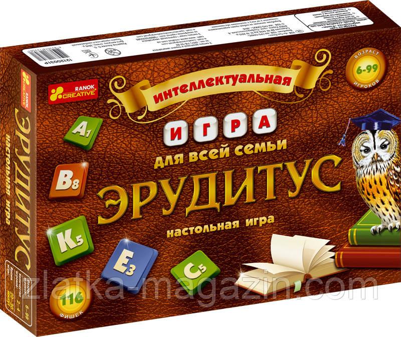"""Настольная игра """"Эрудитус"""""""