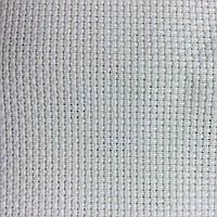 Канва для вышивки крестом 11 (4,3кл/1см) 68*34см Белая Perl Aida 1007/104 Zweigart, фото 1