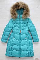 Пальто зимнее для девочки приталенное (128 см)  Snowimage 2125000498454