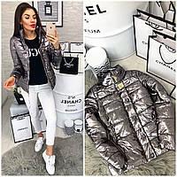 Куртка-новинка,  модель 211/2 графит