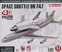 Объемный пазл 4D Master Спейс Шаттл на Боинг 747 (26375)