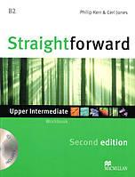 Straightforward Second Edition Upper-Intermediate Workbook without key with Audio-CD (Рабочая тетрадь)