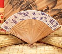 Веер бамбук + шелк (L = 23 см)
